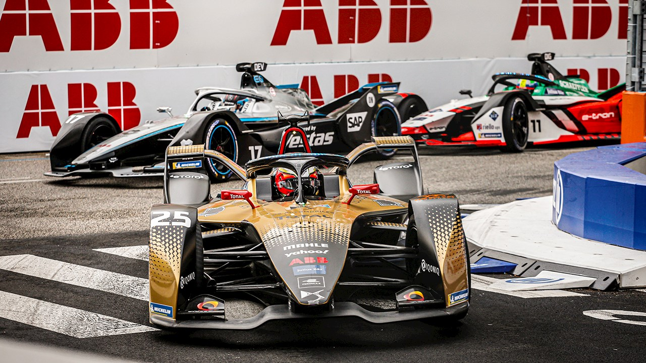 ABB Formula E delivers e-mobility thrills in Eternal City