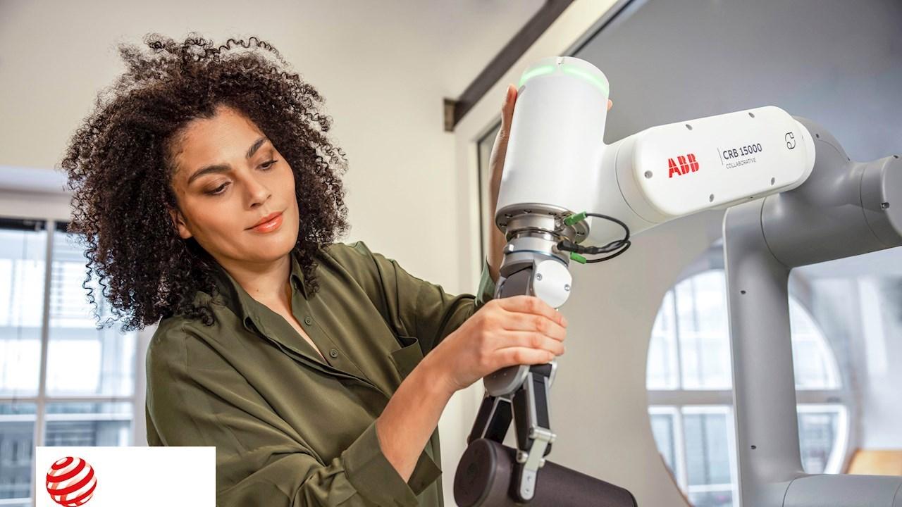 Le nouveau robot collaboratif GoFa d'ABB remporte le prestigieux prix RedDot Best of the Best