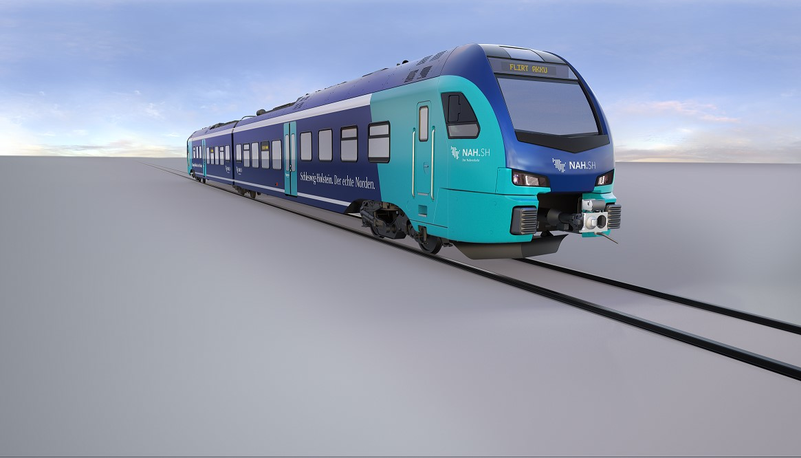 55 new BEMUs (bi-mode electric multiple unit) of local transport authority NAH.SH will be equipped with traction converters and lithium-ion based energy storage systems by ABB. Image credit: Stadler