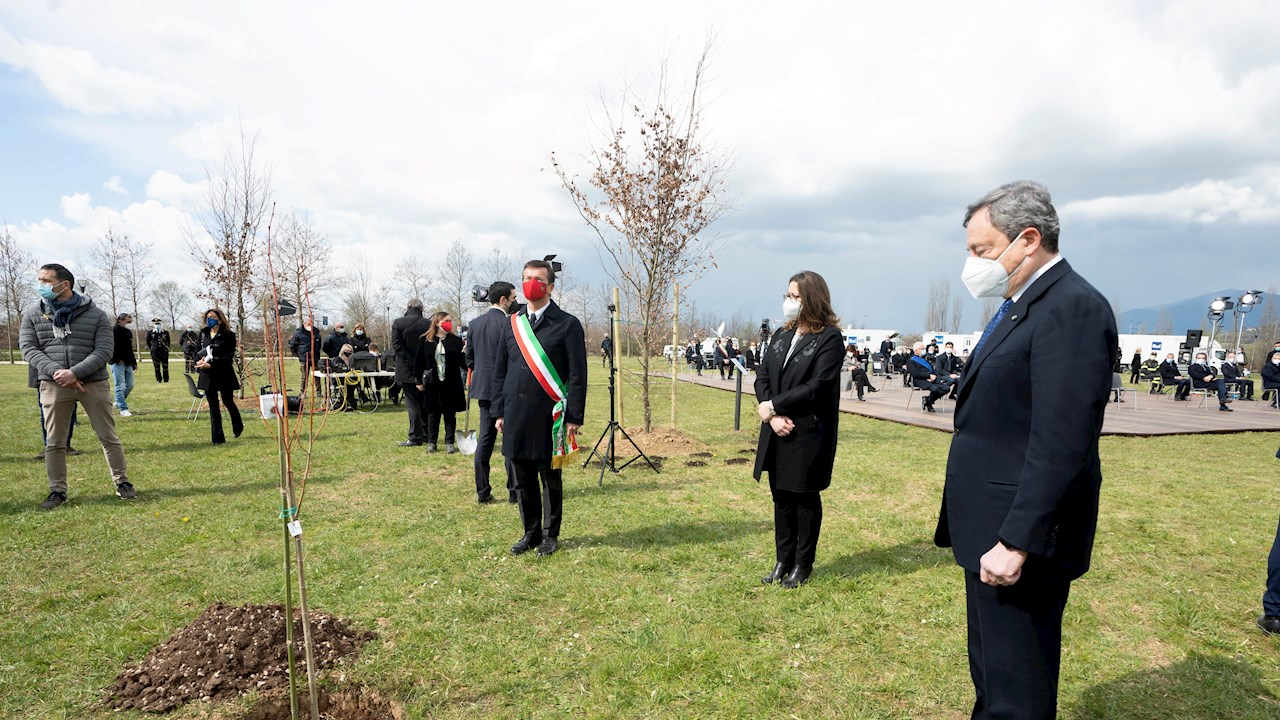 """ABB supports the """"Bosco della Memoria"""" in Bergamo to commemorate the victims of COVID-19"""