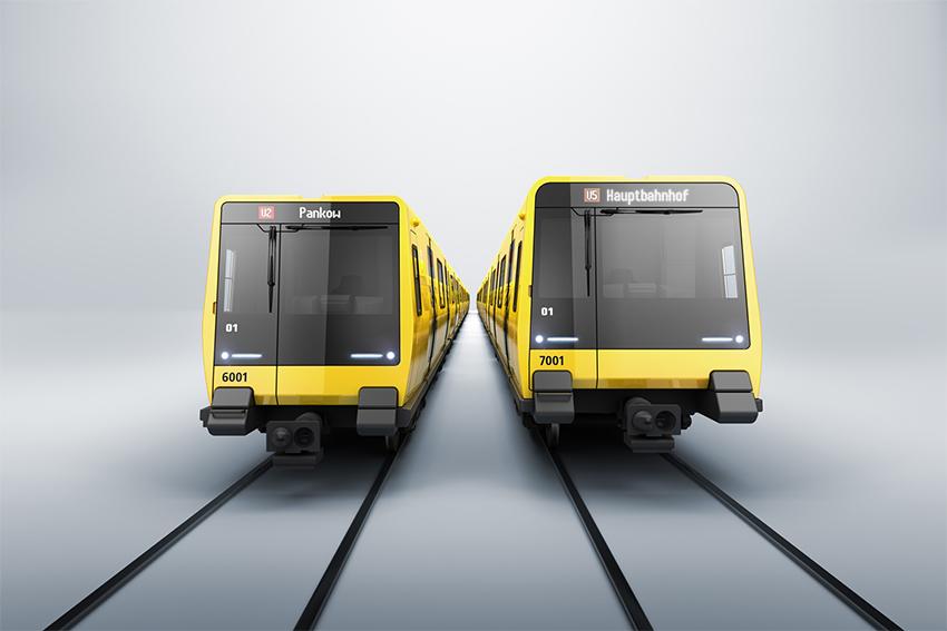 ABB entregará convertidores de tracción para su instalación en nuevos vehículos subterráneos en Berlín. Crédito de la imagen: Stadler