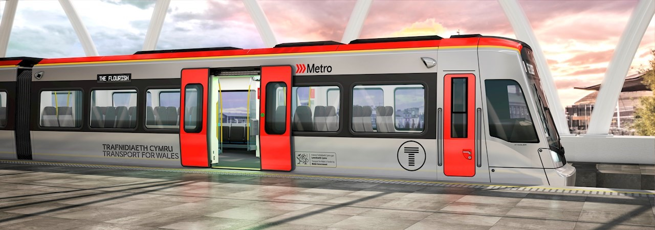 CITYLINK tram-trains, manufactured by Stadler in Valencia, will reduce emissions in and around Cardiff, Wales.