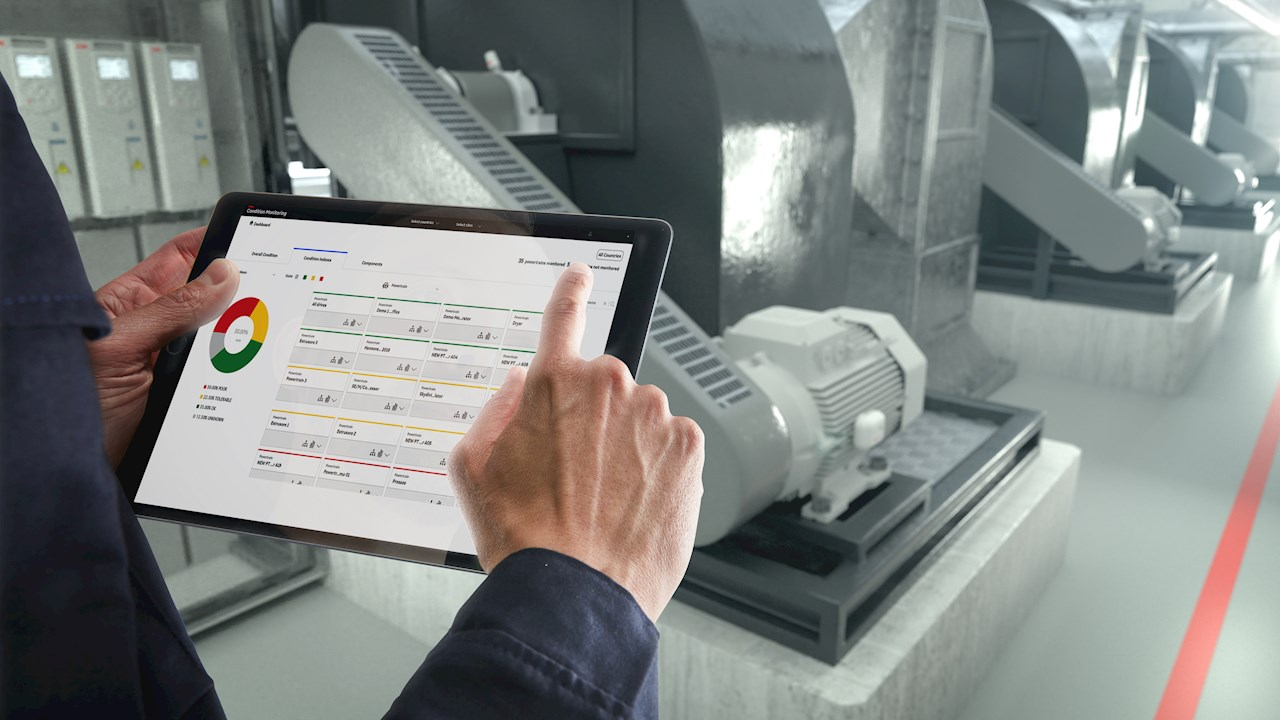 ABB Ability™ Condition Monitoring for powertrains