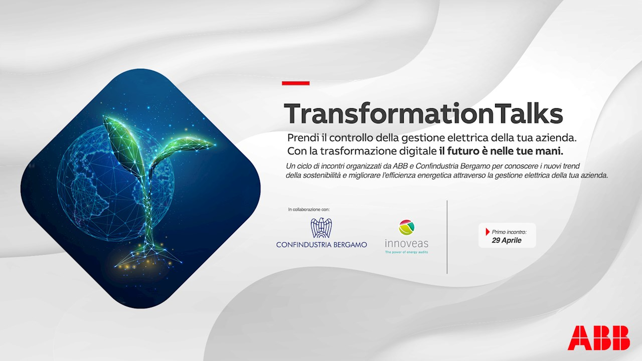 ABB e Confindustria Bergamo lanciano i Transformation Talks