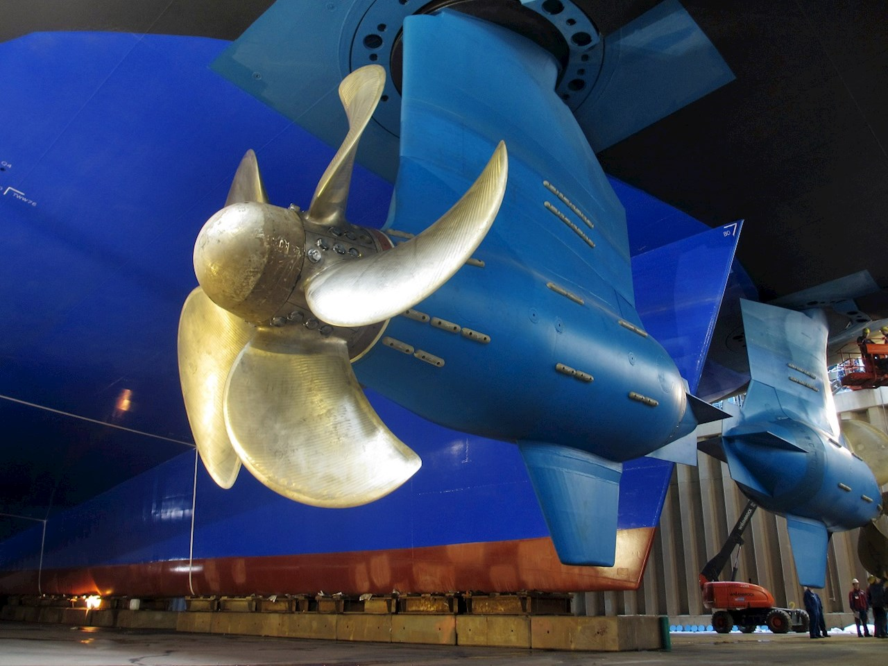 Azipod® propulsion is a gearless steerable propulsion system where the electric drive motor is housed within a pod outside the ship hull.