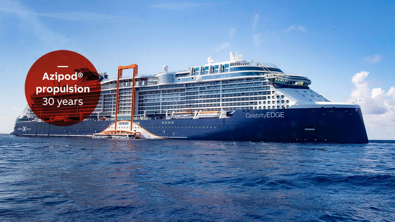 Azipod® propulsion – supplying sustainable power, performance and comfort to cruise ships