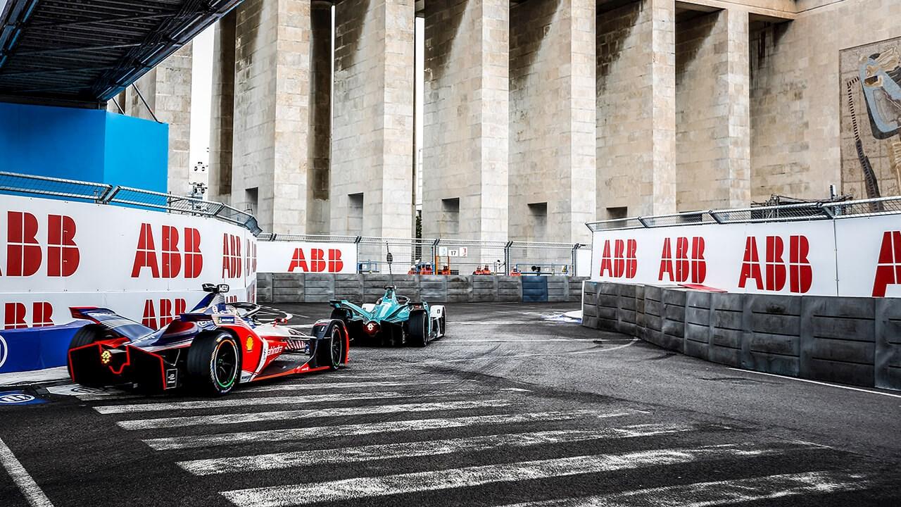 ABB Formula E traccia un nuovo percorso per le strade di Roma