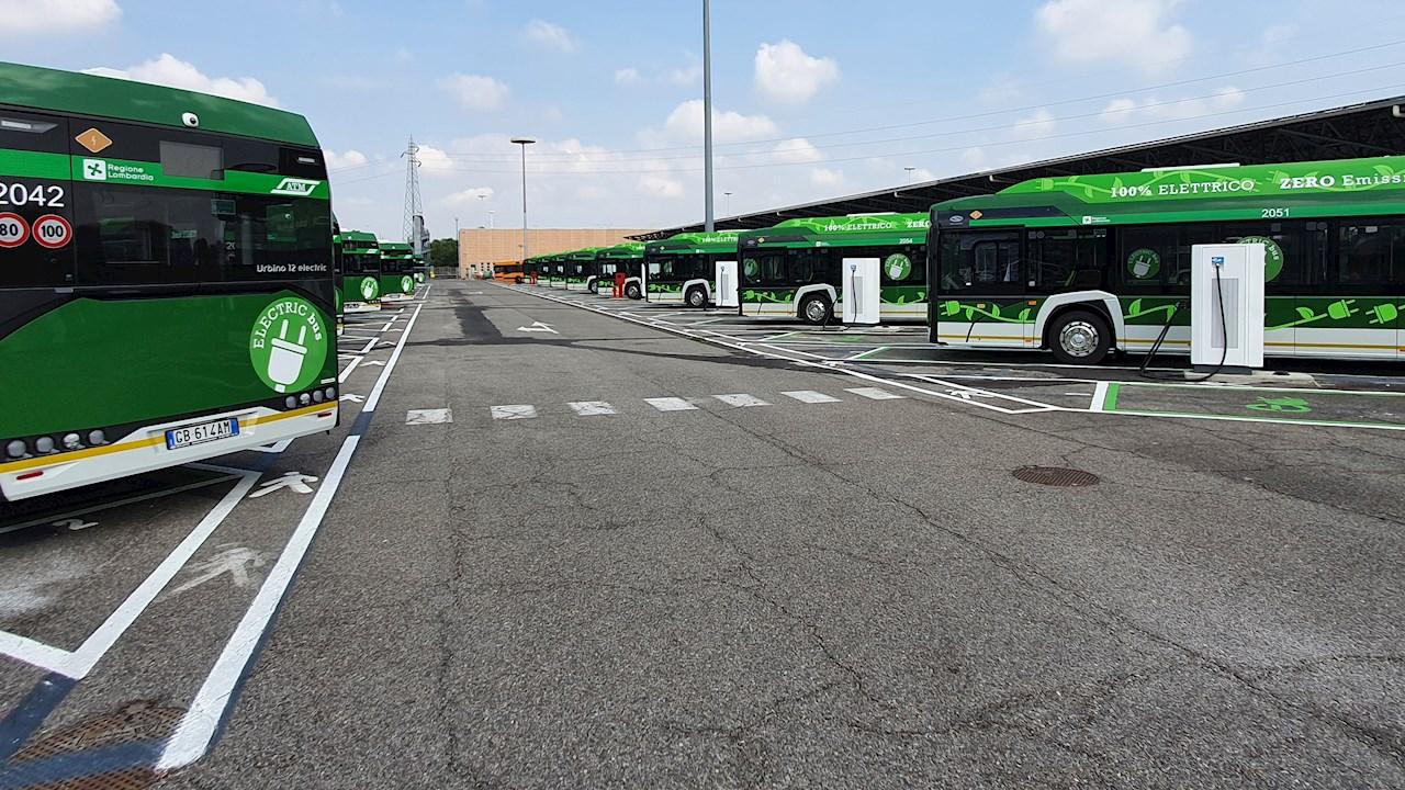 I sistemi di ricarica ABB al cuore del deposito di e-bus del trasporto pubblico Milanese