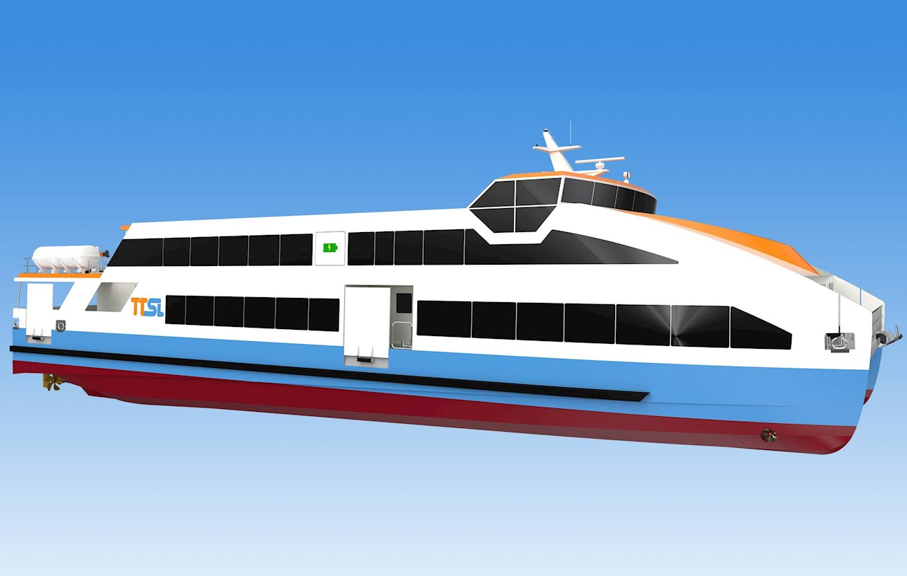 ABB will deliver a fully integrated electric power solution and an integrated marine and propulsion automation system for the ten new ferries. (Image credit: Astilleros Gondán)