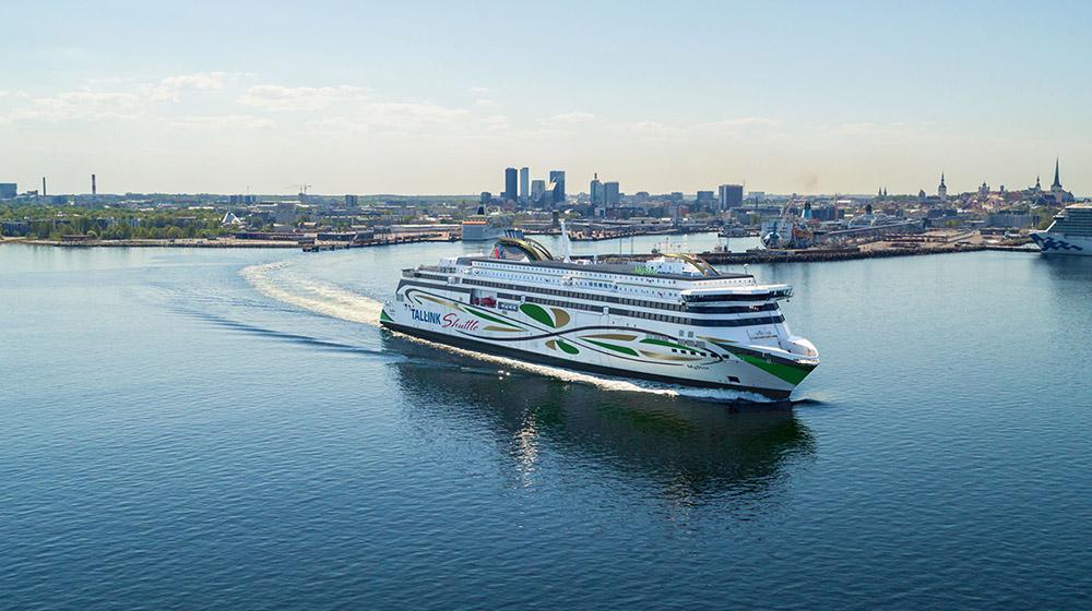 ABB leverer beslutningsstøttesystem til den nye fergen MyStar i Østersjøen (Ill. Tallink Grupp).