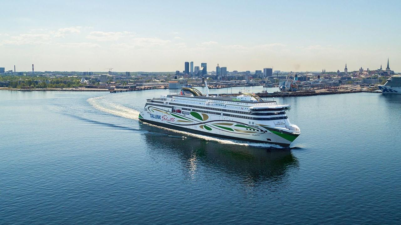ABB-programvare muliggjør energibesparelser og bedre ytelser for Tallinks nye ferge MyStar