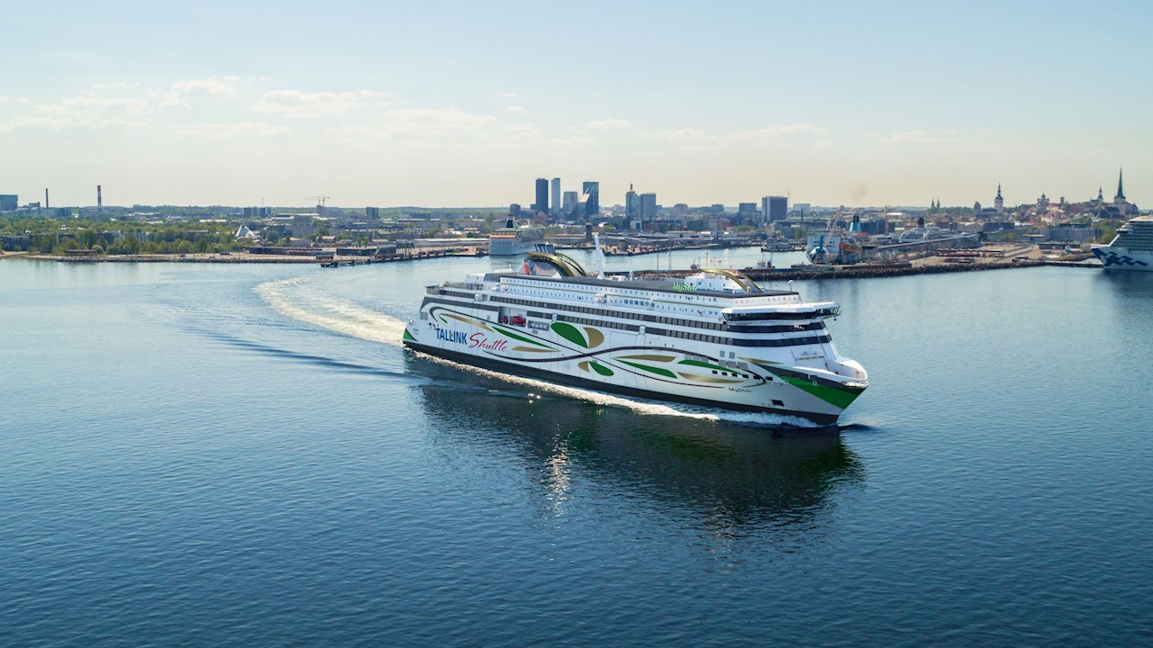 El software de ABB permite ahorrar energía y aumentar el rendimiento a bordo del nuevo ferry MyStar de Tallink