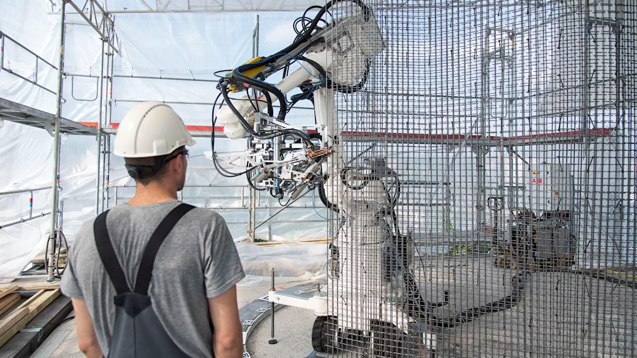 ABB Robotics parantaa rakentamisen turvallisuutta ja kestävyyttä