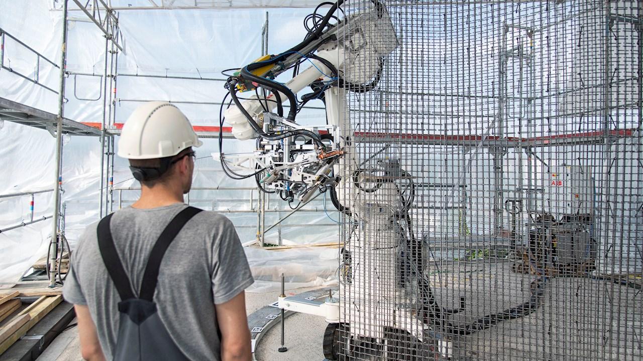 ABB Robotics gör framsteg inom automatisering i byggbranschen för att möjliggöra säkrare och mer hållbar byggnation