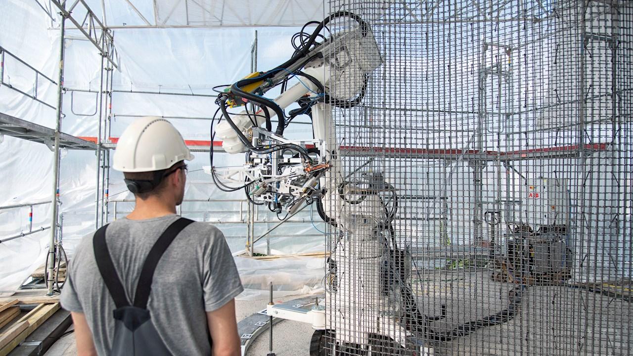 ABBロボティクスは、より安全で持続可能な建築を可能にすべく、建設業界の自動化を推進