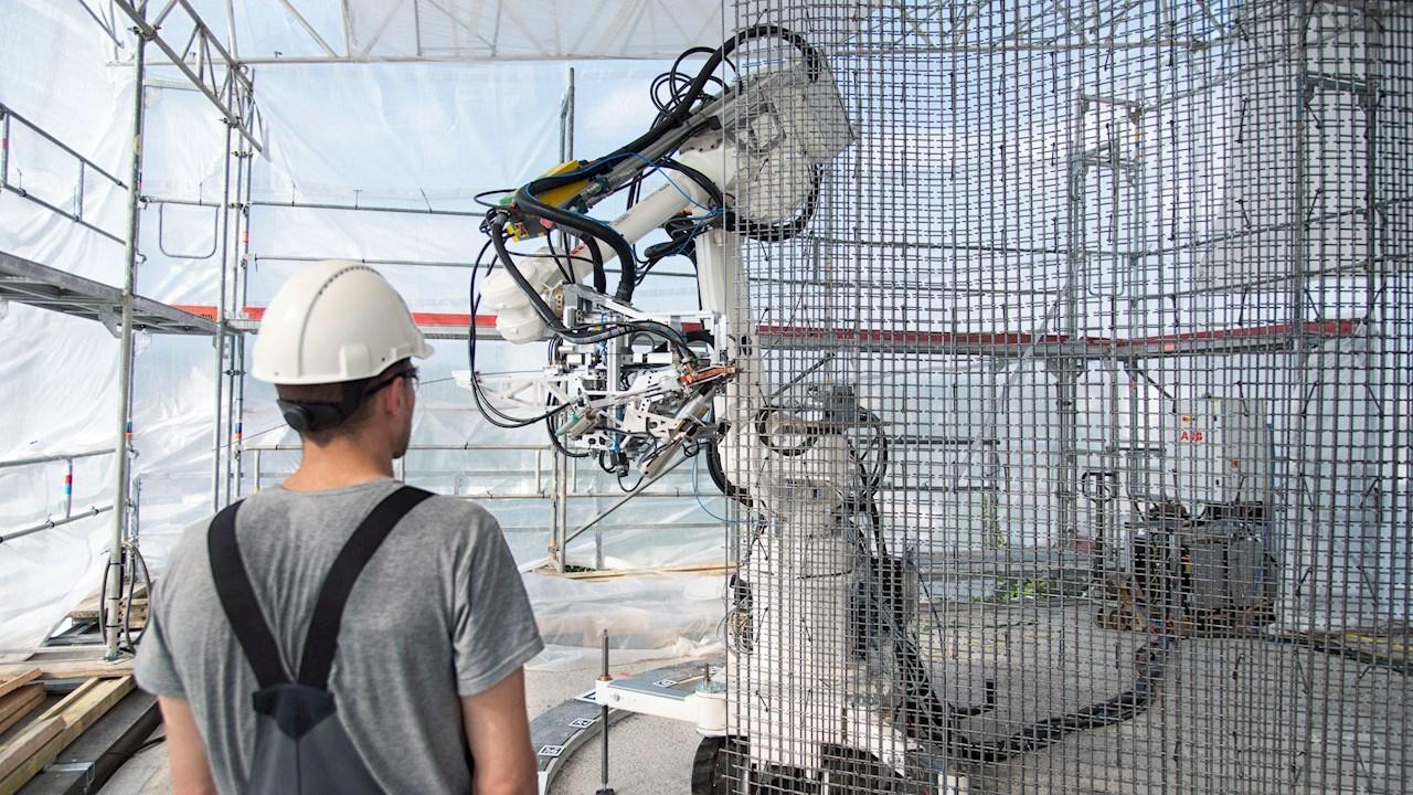 El área de negocio de robótica de ABB avanza en la automatización del sector de la construcción para posibilitar edificios más sostenibles y seguros