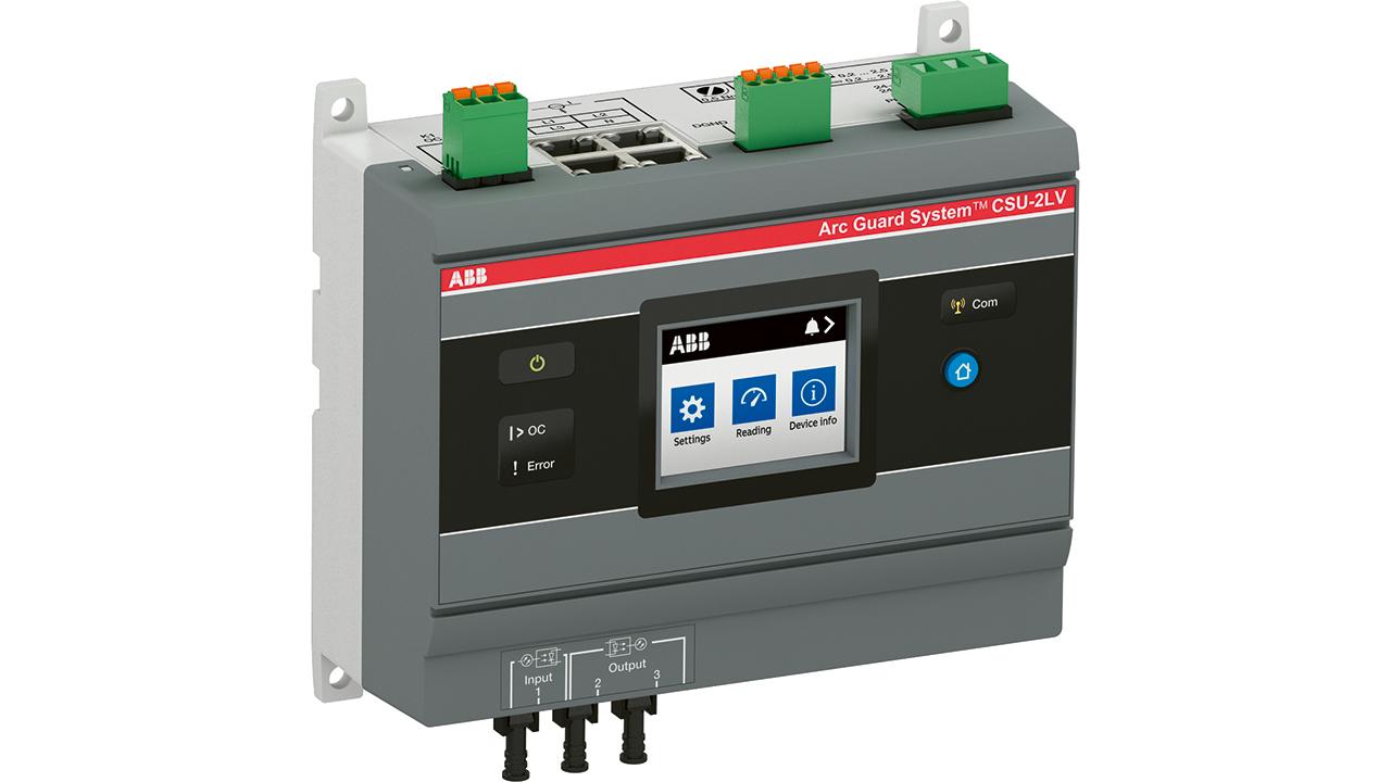 01 The ABB CSU-2 current sensing unit.