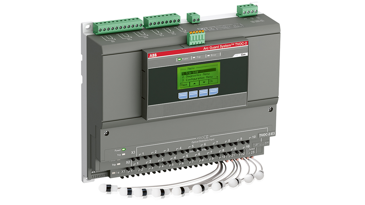 02 ABB's TVOC-2 Arc Guard System™.