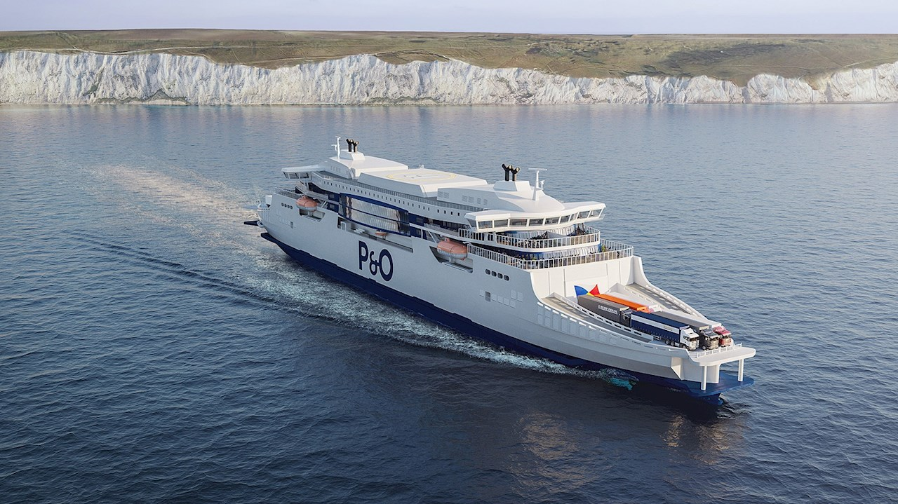 P&O Ferries will modernize its Dover-Calais route with two new vessels equipped with ABB electric, digital and connected solutions.