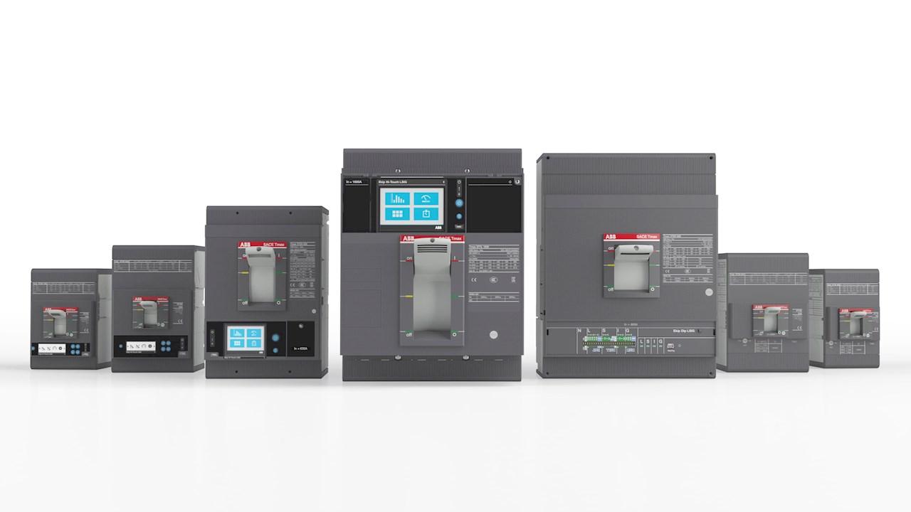 Familia de interruptores inteligentes TMAX XT