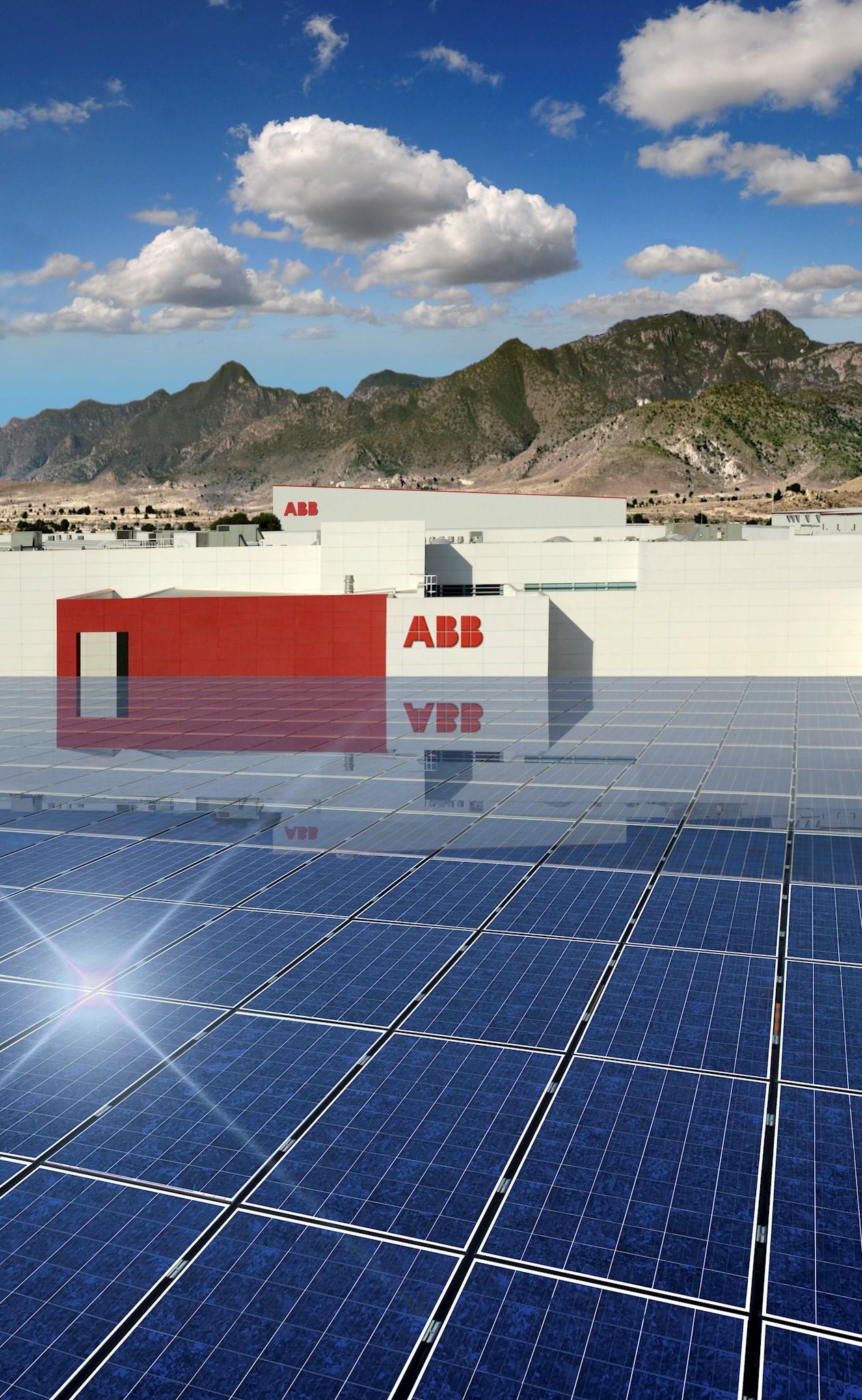 Der Engineering- und Fertigungskomplex von ABB in San Luis Potosí ist die erste Industrieanlage in ganz Mexiko, die ihre eigene Energie erzeugt.
