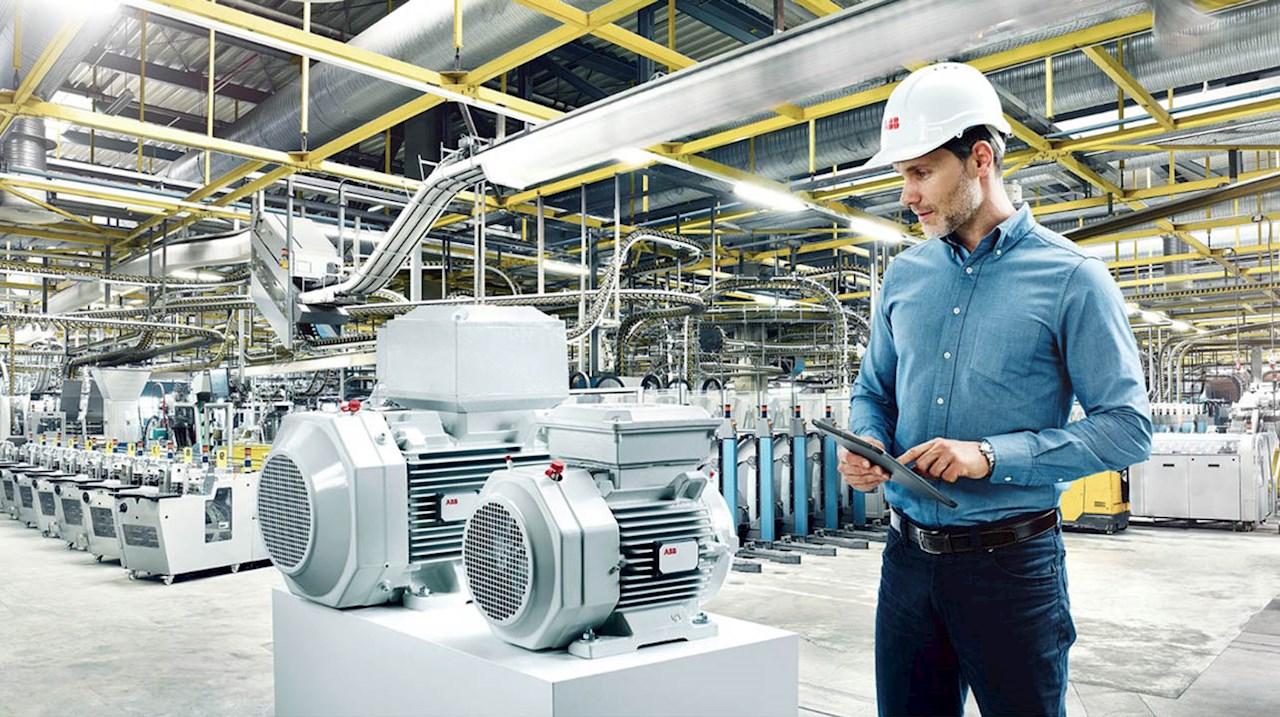 Dersom alle elektromotorer i norsk industri ble erstattet med de mest energieffektive variantene, kan Norges totale strømforbruk reduseres med et par prosent.