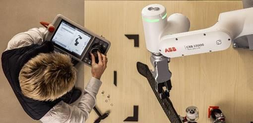 GoFa™ CRB 15000 本質的な安全性を持ち、より高速でかつてない 使いやすさを備えた、高可搬型の協働ロボット
