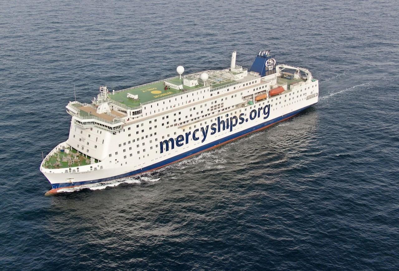 Global Mercy est équipé de deux unités de propulsion Azipod®, dans le cadre d'un ensemble complet de solutions électriques, numériques et connectées pour optimiser le fonctionnement.