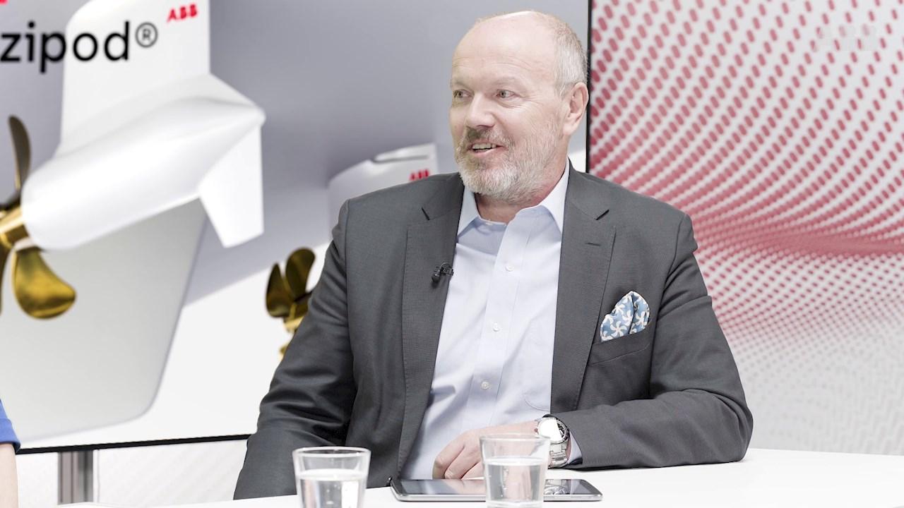 Jukka Varisは、初期からAzipod®システムに取組んでいます。