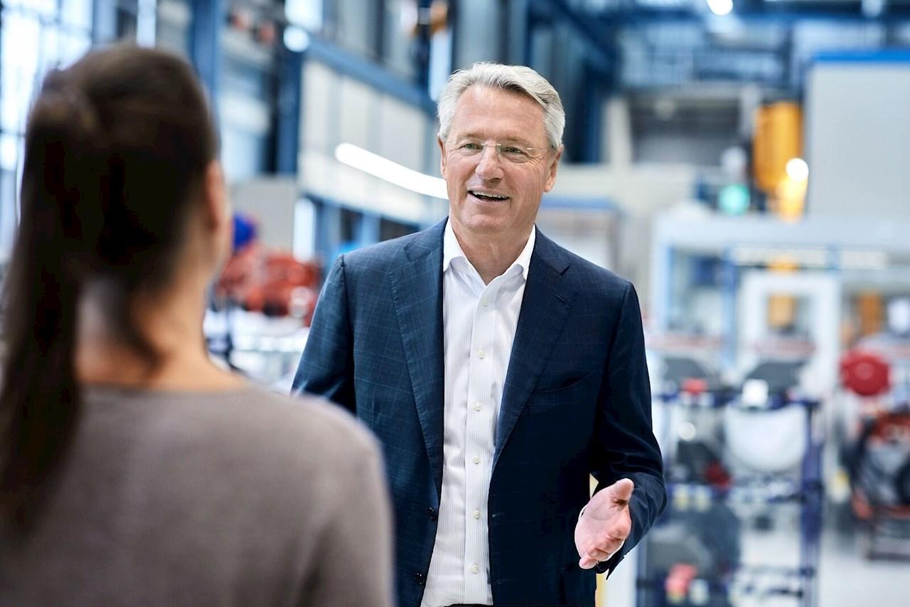 Björn Rosengren, CEO de ABB