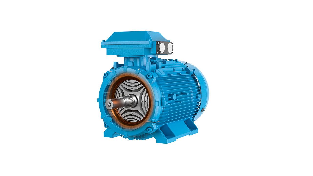 02 The IE5 SynRM represents a major step forward in sustainable electric motor technology in terms of efficiency, reliability and power density