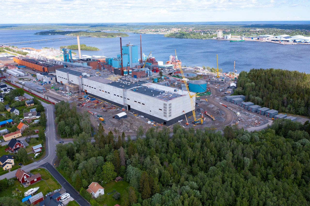 ABB has been contracted by machine supplier Voith to deliver drives and electrification to support SCA's Obbola mill expansion in Sweden