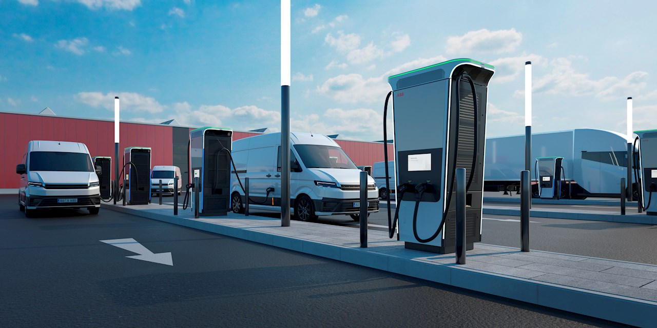 As well as serving the needs of private EV drivers at fueling stations, convenience stores and retail locations, Terra 360 chargers can also be installed on an organization's commercial premises to charge electric fleet cars, vans and trucks.