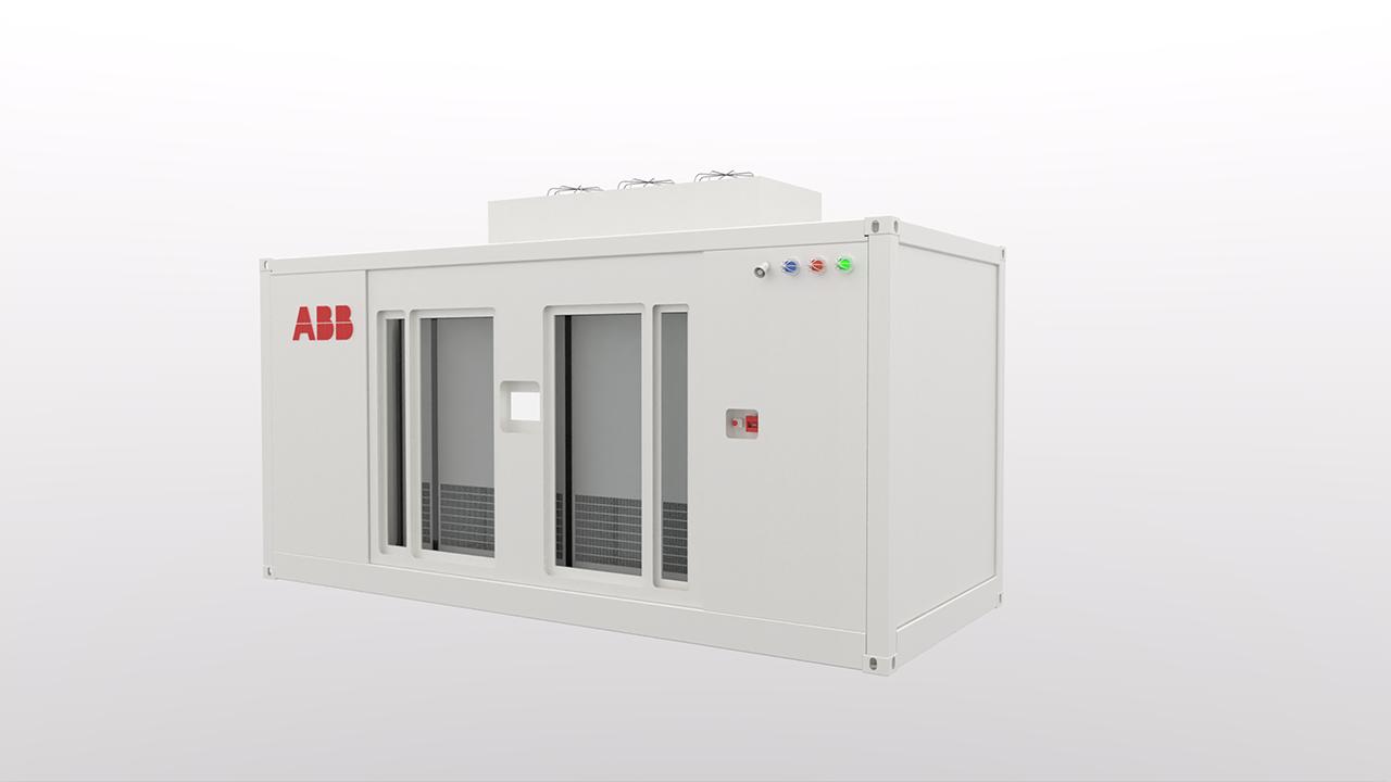 Containerløsningen kommer ferdig fra fabrikk for enkel installasjon og sikkert vedlikehold.