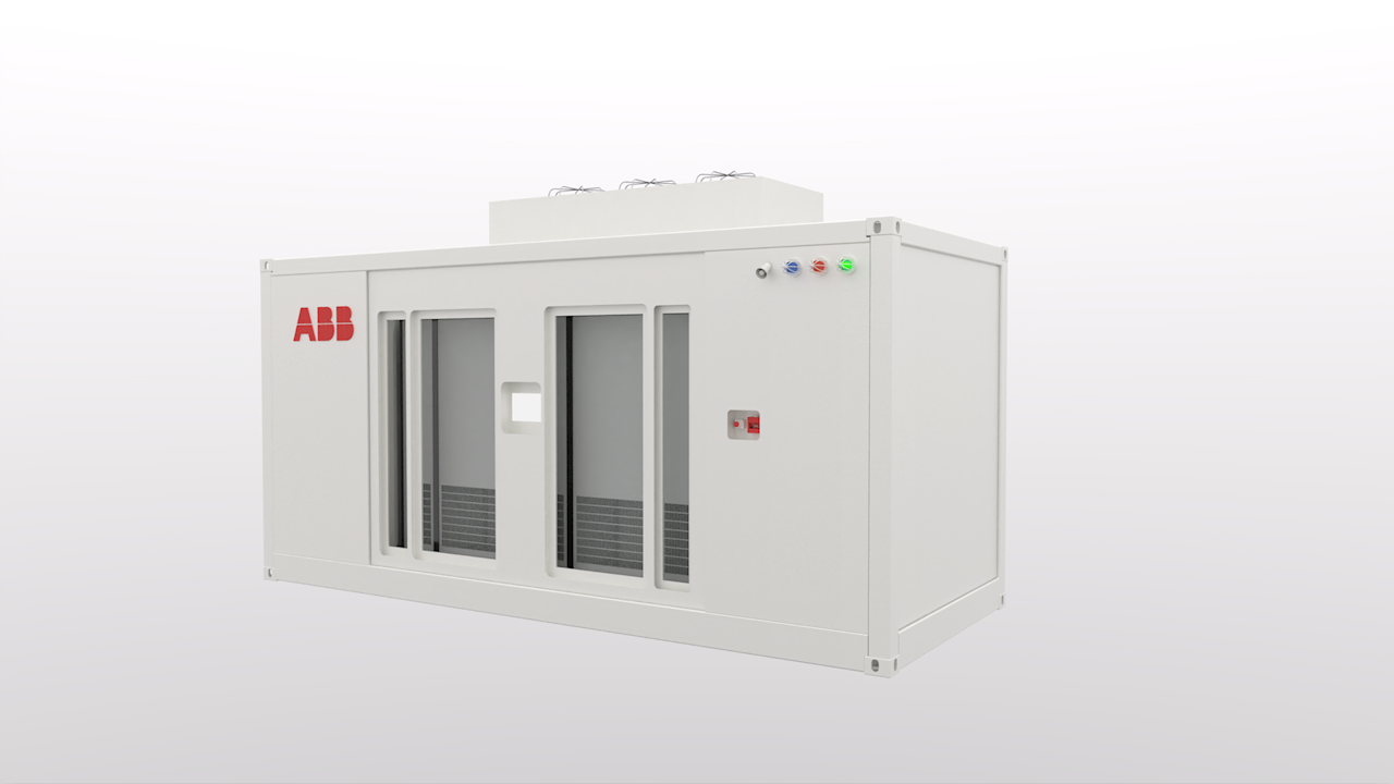 La solution d'ABB est livrée dans une unité pré-assemblée pour une installation facile et une maintenance plus sûre